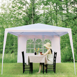 3 X 3m Waterproof Tent Gazebo Pergola Outdoor Party Bbq Grill Canopy Pool White