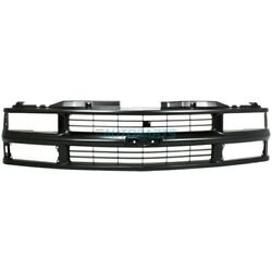 New Front Grille Fits 1994-2000 Chevrolet C2500 15981092