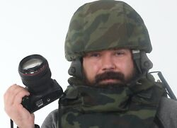 Russian Army Gssh-01-01 Headset, Compatible With Kenwood And Baofeng Radios