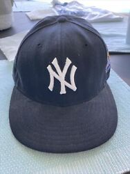 New York Yankees 1999 World Series New Era 59 Fifty Authentic Cap Size 7 1/8