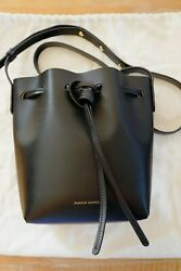 Mansur Gavriel Mini Mini Bucket Bag Black Ballerina $279.00