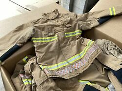 100x Ex Fire And Rescue Jacket Wholesale Pallet Fire Service Firefighter Job Lo...
