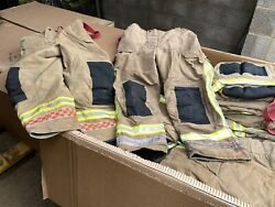 100x Ex Fire And Rescue Trousers Fire Service Firefighter Thermal Pants Job Lot...
