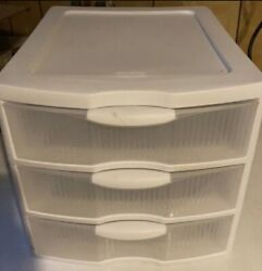plastic organizer storage drawers