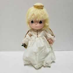Vintage 1989 Applause Precious Moments Angelie Musical Angel Doll 21623