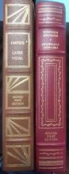Lot Of 2 Leather Books Signed First Edition From The Franklin Library