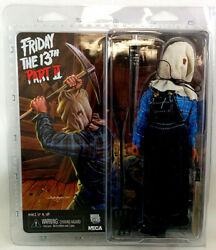 Friday The 13th Part 2 8 Inch Action Figure Retro Series - Sack On Head Jason