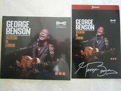 George Benson Weekend In London New Cd And Signed Artcard Sold Out Pre Order