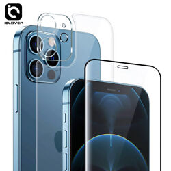 For Iphone 12 Pro Max Mini Full 9h Tempered Glass+camera Lens Screen Protector