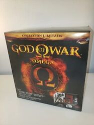 New God Of War Omega Limited Steelbook 5 Games Statue Kratos Sideshow Collection