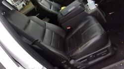08 - 10 Ford F350 Sd Crew Cab Front Passenger Seat Charcoal Black Leather