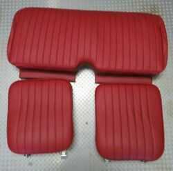 1946-1950 Mgtd Leather Seats, Hardware Installed