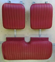 1946-1950 Mgtd Leather Seats, Includes All Hardware, Great Condtion