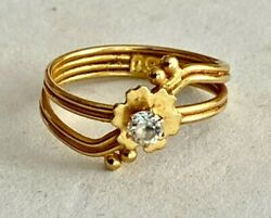 Sale_solid 23k Yellow Gold Designer Ring, See Other Rings, Jewelry, Coins And Gold