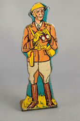 Marx Soldiers Of Fortune General Tin Litho Vintage Military Playset Figure