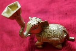 Jumbo Elephant Lamp And Table Decoration Paperweight Brass Statue Handmade Gift