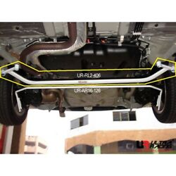 Ultra Racing 2-point Rear Lower Bar For Scion Xd Xp110 1.8 And03907-and03914 Rl2-406