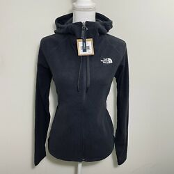 The North Face Women#x27;s 100 Glacier Full Zip Hoodie Jacket Dark Grey Sz M L XL $54.00