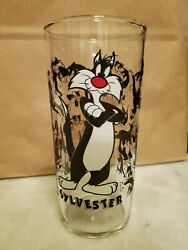 Vintage Sylvester Wb '96 Looney Tunes Collector Glass - Rare - Htf