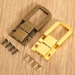 Box Hasps Lock Catch Latches Chest Box Buckle Clasp Vintage Hardware 30x24mm