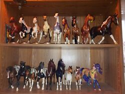Small Collection of Breyer Model Horses