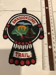 Amaquonsippi Trail Hanging Patch Boy Scouts Of America
