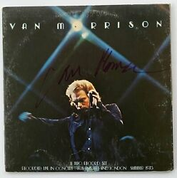 Van Morrison Autograph In-person Signed Itand039s Too Late Stop Now Record Lp Jsa A
