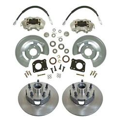 1964-73 Ford Mustang Front Disc Brake Conversion Kit Drum-disc 11 Rotors