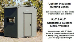 Insulated Core Structureandnbsp Hunting Blinds With Heavy Duty Industrial Grade Liner
