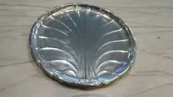 Reed And Barton Sterling Silver Round Design Plate Platter 11 Date Mark 1933