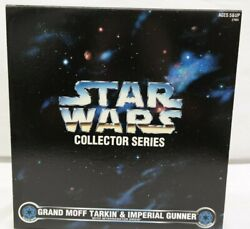 Star Wars Collector Series Grand Moff Tarkin And Imperial Gunner Ty