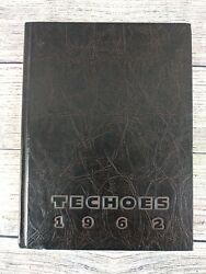 1962 Techoes St Cloud Minnesota Mn Technical High School Yearbook
