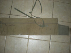 Ww2 Orig. Airborne Paratrooper 1943 Od3 Griswold Rifle Jump Bag Modified 505th