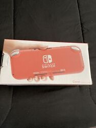 Nintendo Switch Lite Handheld Video Game Console Coral Pink - Brand New In Stock