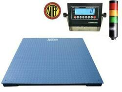 Ntep 40 X 40 Floor Scale Check Weigher / Weight Control / Stag Light System