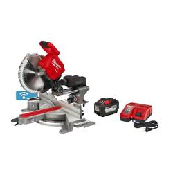 Milwaukee M18 Fuel 12 In. Dual Bevel Sliding Compound Miter Saw Mlw273921hd