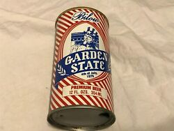 Bilow Garden State Beer Steel Can 4th Of July 1979 Walter Eau Claire Wis 12oz