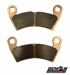 Disc Brake Pad Set For 2008-2011 Can-am Ds 90 X