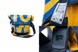 Men#x27;s FREITAG Series G5.1 Messenger Backpack Yellow Blue Tasche Cycling Bag $90.00