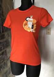 Absolute Vodka Mandarin T-shirt, Vintage 1990's/2000's, Size M, New Without Tags
