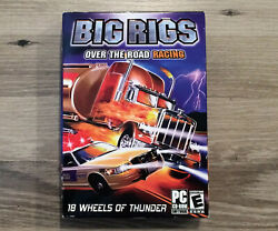 Big Rigs Over The Road Racing Pc 2003 Windows Game Rare
