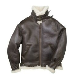 Cockpit Usa The General B-3 Bomber Jacket Brown Usa Made Z2103