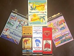 Matchbook Covers 235+ Vintage Matchbook Covers In Album Circa 1930s-1950s