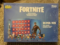 New Funko Fortnite Pint Size Heroes Advent Calendar 24 Pc Free Shipping