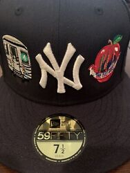 Classic Material New York Cmny New York Yankees New Era Fitted Size 7 1/2