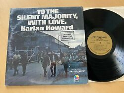 Harlan Howard To The Silent Majority With Love In The Shrink 71 Nugget Nm Lp Blm