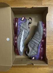 Nike By You ID Vapormax 2020 CW0602 992 Floral Grey Red Women#x27;s Size 7 Men#x27;s 5.5 $169.99
