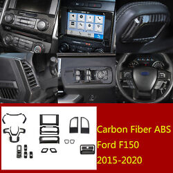 20×abs Inner Window Lift Buttonandsteering Wheel Panel Trim For Ford F150 2015-20