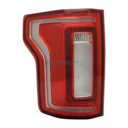 New Left Driver Side Led Tail Light Assembly Fits 2015-2017 Ford F-150 Fo2800246