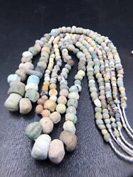 Saramak Pottery Necklace Sell By Lots 3 Peace Unique Necklace Size46mm Pre1700